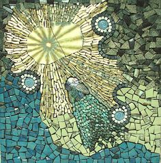 Eternal Attraction by Virginia Gardner Mosaics