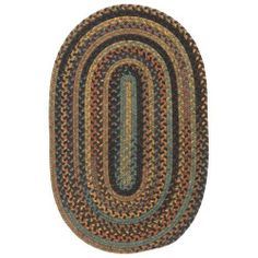 Colonial Mills RU20-oval Rustica Burst Rug Rug Size: Round 7' by Colonial Mills. $322.00. Colonial Mills RU20-oval This collection combines durability, color and style. 100% Premium space-dyed wools create a style unlike anything you'd find in a machine made rug. Perfect for all areas of the home. Reversible for twice the use. Made in the USA. Features: -Construction: Machine made. -Technique: Braided. -Material: 100% Wool. -Origin: USA. -Collection: Rustica. -Su...