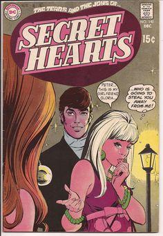 SECRET HEARTS #140 VF DECEMBER 1969 DC COMICS ROMANCE THE TEARS AND THE JOY | eBay
