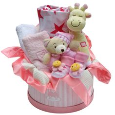 Baby Girl Hamper Medium Baby gift $129.50AUD - prices include delivery and GST.