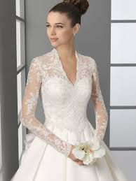 Wedding Gowns with Lace Sleeves