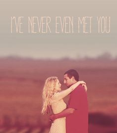 """50 First Dates. """"I love this movie"""" damn this fictional couple. Perhaps the fictional hero """"Adam Sandler"""" such a gentleman"""