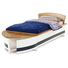 DaVinci Thompson Oak Paneled Twin Boat Bed  Toys R Us