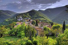 Avacelli piccolo paese delle Marche