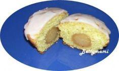 Marcipán muffin | Betty hobbi konyhája Muffin, Cornbread, Ethnic Recipes, Food, Millet Bread, Essen, Muffins, Meals, Cupcakes