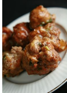 St. Patrick's Day is coming - here are my Irish Stew Meatballs. (Round, for Pi Day!)