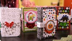 Covered Tic Tac containers with Bella Blvd