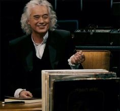 Jimmy Page in a still from 'It Might Get Loud'