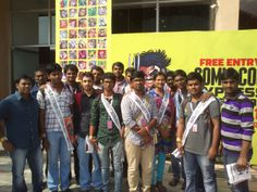 creative mentors, BFA - animation degree program students at the event