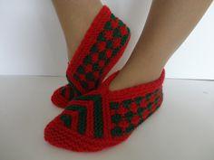 Items similar to SLIPPERS,Women slippers,Christmas gift ,Handknitt women socks, on Etsy Knitted Slippers, Crochet Squares, Womens Slippers, Knitting Socks, Christmas Gifts, Elsa, Trending Outfits, Unique Jewelry, Handmade Gifts