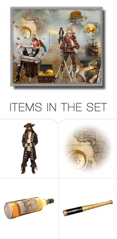 """""""Pirate Bay"""" by rainheartcreations ❤ liked on Polyvore featuring art"""