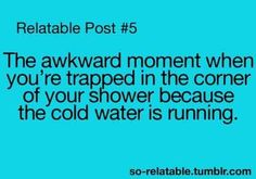 I hate when that happens even with hot water!!!!