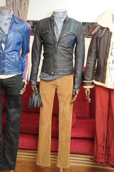 Goodwood Sports & Racing by Belstaff Men's RTW Fall 2013  Photo by Tim Jenkins