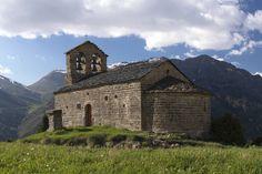 La Vall de Boí. Ermitage Sant Quirc de Durro