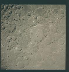 Apollo 15 Hasselblad image from film magazine 96/Q - Lunar orbit, LM rendezvous