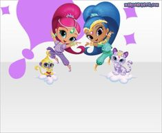 Shimmer Y Shine, Minnie Mouse, 5th Birthday, Birthday Party Invitations, Tweety, Smurfs, Disney Characters, Fictional Characters, Ticket Invitation