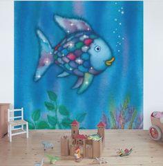 Der #Regenbogenfisch #Fische #Vliestapete #Tapete #Tiere #Kinderzimmer #Unterwasserwelt #Wandbild