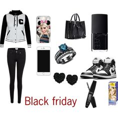 Black friday by karoinesommerfugl11 on Polyvore featuring art