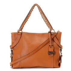Best Michael Kors Patent Set Chain Large Brown Satchels Popular In The World