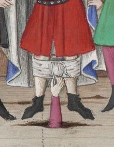 Pantsing apparently has a long history! Decameron, 1401-1500 Ms-5070 réserve Folio 287v.