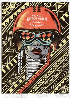 The Dutchmann Racing Poster Portfolio