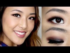 From Head To Toe: Simple 1-Color Smokey Eye Tutorial