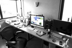 my messy desk by smilemark, via Flickr #workspace