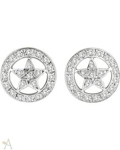 Women's Kelly Herd Sterling Silver Dazzling Star Earrings - Earring - Amberleaves.com