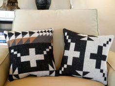 pendleton wool throw pillow