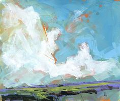 Sky four-massif/acrylic on paper/13 x 11 inches/2014