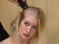 Sissy Boy Has Her Head Shaved