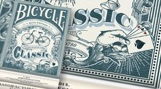 Classic Bicycle® Playing Cards//Relaunch by Jenesa Gazmere — Kickstarter