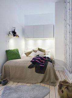 soluções para dormitórios pequenos