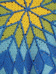 Reims Baby Quilt By Robyn Chachula - Purchased Crochet Pattern - (crochetbyfaye.blogspot)