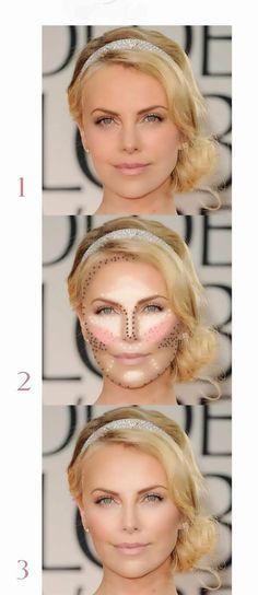 maquillaje-rostro ovalado tu imagen eres tu
