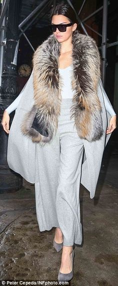 Kylie and Kendall Jenner turn heads in kinky boots and fur as they head to lunch | Daily Mail Online