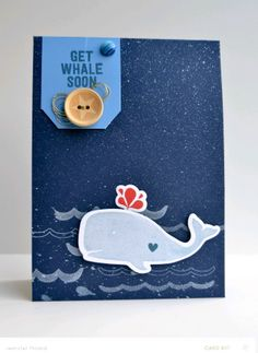 Get Whale Soon *Card Kit only by JennPicard at @Studio_Calico  Copper Mountain