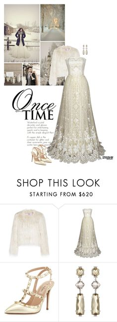 """""""Winter Wedding"""" by marion-fashionista-diva-miller ❤ liked on Polyvore featuring VIVETTA, Once Upon a Time, Valentino, Vianna B.R.A.S.I.L, Winter, wedding and winterwedding"""