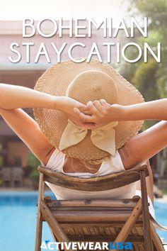 Bohemian Staycation by @jennyravikumar on the @activewearusa Mag! #activewearusa #staycation