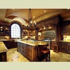 kitchens   dramatic design luxury kitchens one - OnArchitectureSite.Com