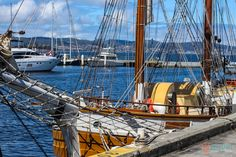 Hobart Waterfront, Tasmania, Australia