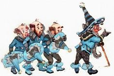 Волшебник Изумрудного города - иллюстрации Леонида Владимирского к книгам Волкова А.М.
