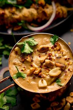 This easy Satay Sauce Recipe makes a great dip for chicken, pork or vegetable skewers. Smooth and creamy with a little chilli kick! Curry Recipes, Sauce Recipes, Veggie Recipes, Asian Recipes, New Recipes, Cooking Recipes, Healthy Recipes, Vietnamese Recipes, Veggie Food