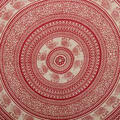 Elephant Mandala Tapestry, Bedcover, wall hanging, Hippie Curtain, Wall Decor, Decorative Art, Bed Throw, Bed Spread