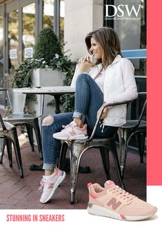 Fall in love with sneakers at DSW.com where you can find the brand and color you've been dreaming of. Tap the Pin to shop now.