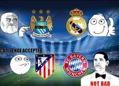 Champions League draw reactions