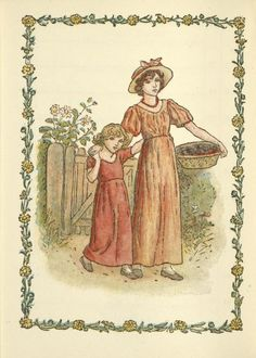 September - Kate Greenaway's Almanack for 1897