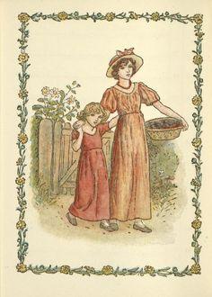 September - Kate Greenaway's Almanack for 1897