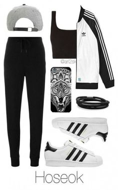 49 Ideas Sport Outfit Casual All Black For 2019 Teenage Outfits, Lazy Outfits, Everyday Outfits, Outfits For Teens, Sport Outfits, Cute Comfy Outfits, Cute Casual Outfits, Casual Jeans, Mode Adidas