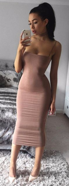 nude dress obsession girly style